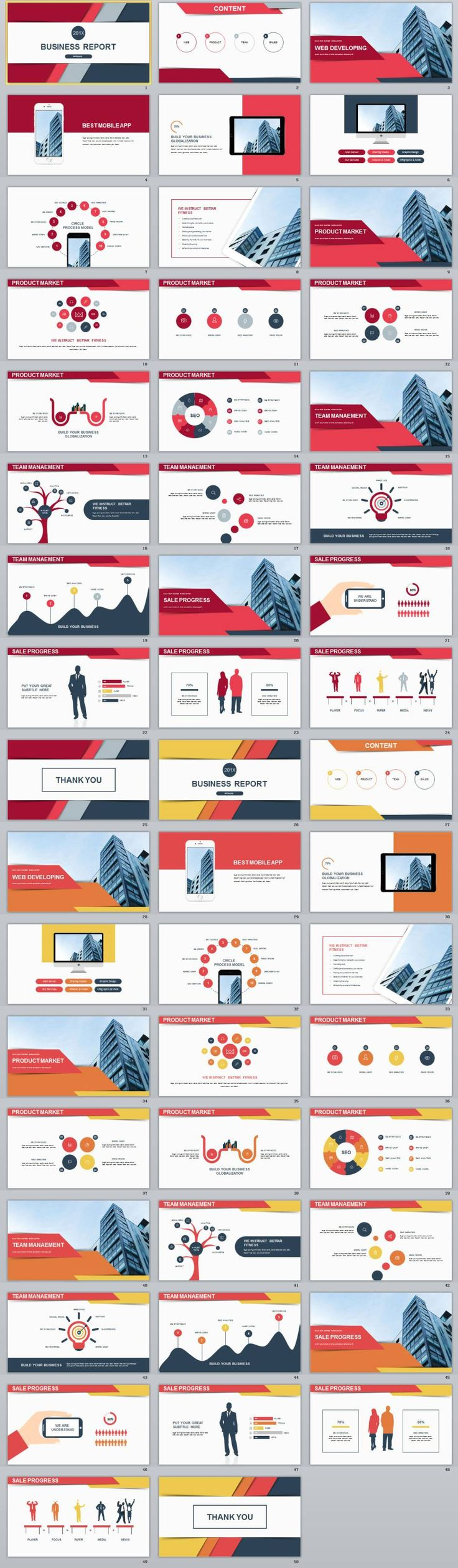 The 25 best simple powerpoint templates ideas on pinterest 2 in 1 best red business report powerpoint template alramifo Gallery