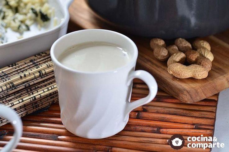 Atole de cacahuate al estilo de Sonia Ortiz por Cocina al natural