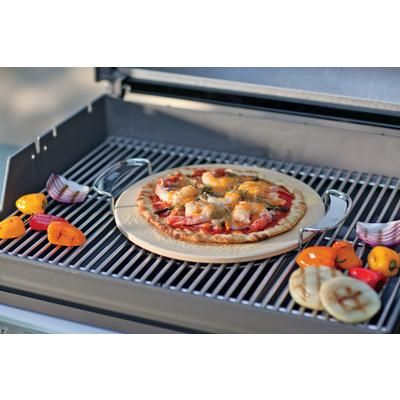 If your guy loves to try new things on the grill, The Weber Pizza Stone insert is a great gift idea! This Pizza stone is compatible with Weber Gourmet BBQ System grates and adds a smoky flavor to your favorite homemade pizzas. #GiftsForHim #GiftIdeas #GiftsForDad
