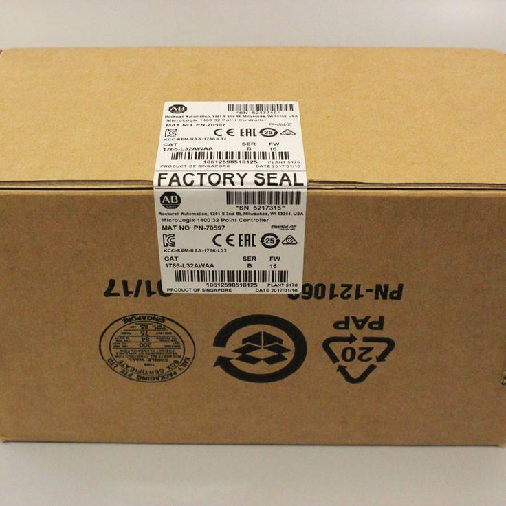 Allen Bradley AB Micrologix 1400 1766-L32AWAA SER B Controller