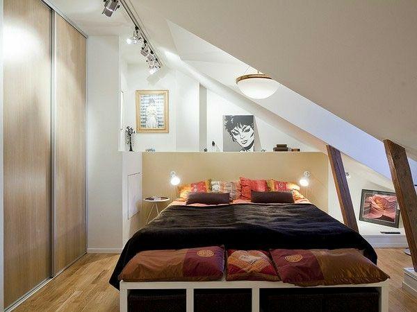 Schlafzimmer Mit Dachschräge 34 Tolle Bilder Einrichten