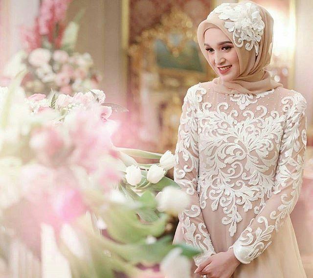 Inspirasi pengantin hijab dari @mir.909 Siapa yang suka?