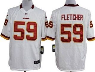 nike redskins london fletcher white with c patch mens embroidered nfl game jersey