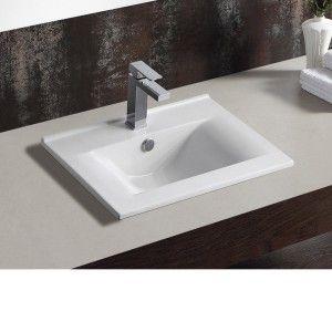 RENATO Semi Recessed Basins -  Vitrous Ceramic