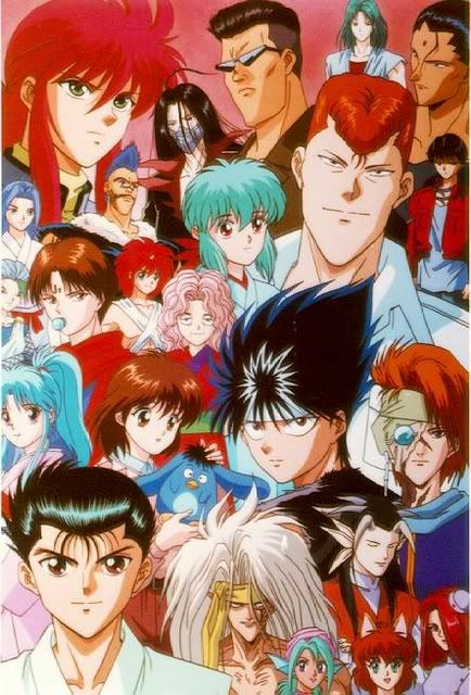 Yu yu hakusho. Ghost fighter. Probably the most popular anime in phils. Its been airing since i was a kid! Rei gun. Toguro 100%. Puuu. Yea im weird haha whatever.
