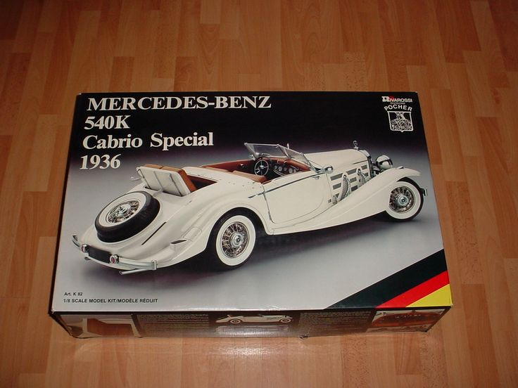 50 best build the pocher 540k mercedes cabrio special for Best looking mercedes benz models