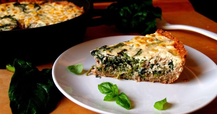 tuna quiche, pie, savoury, tuna pie, spinach quiche