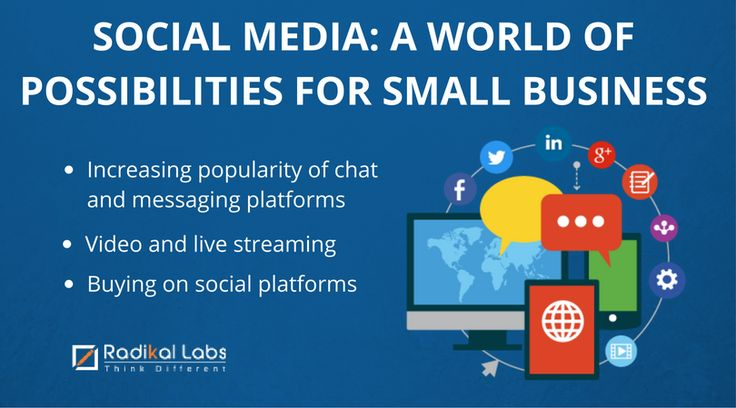 What does the coming year hold for small businesses in social media marketing? Here's what you need to know. Contact us at bit.ly/2aZvJ43