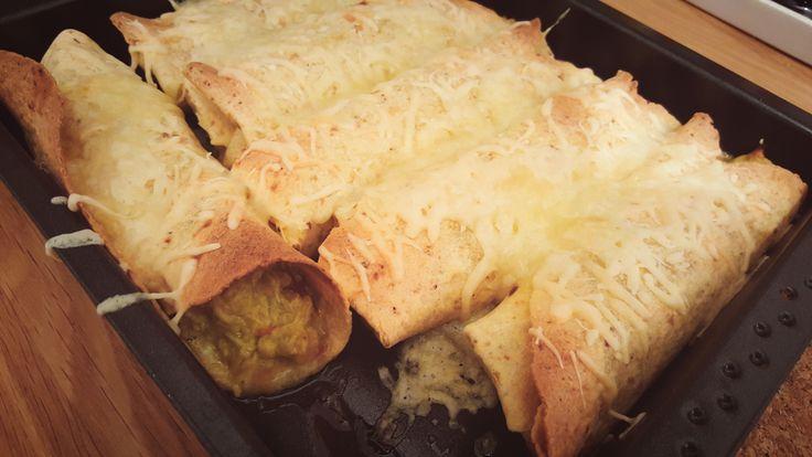 Honig-Limetten-Enchiladas