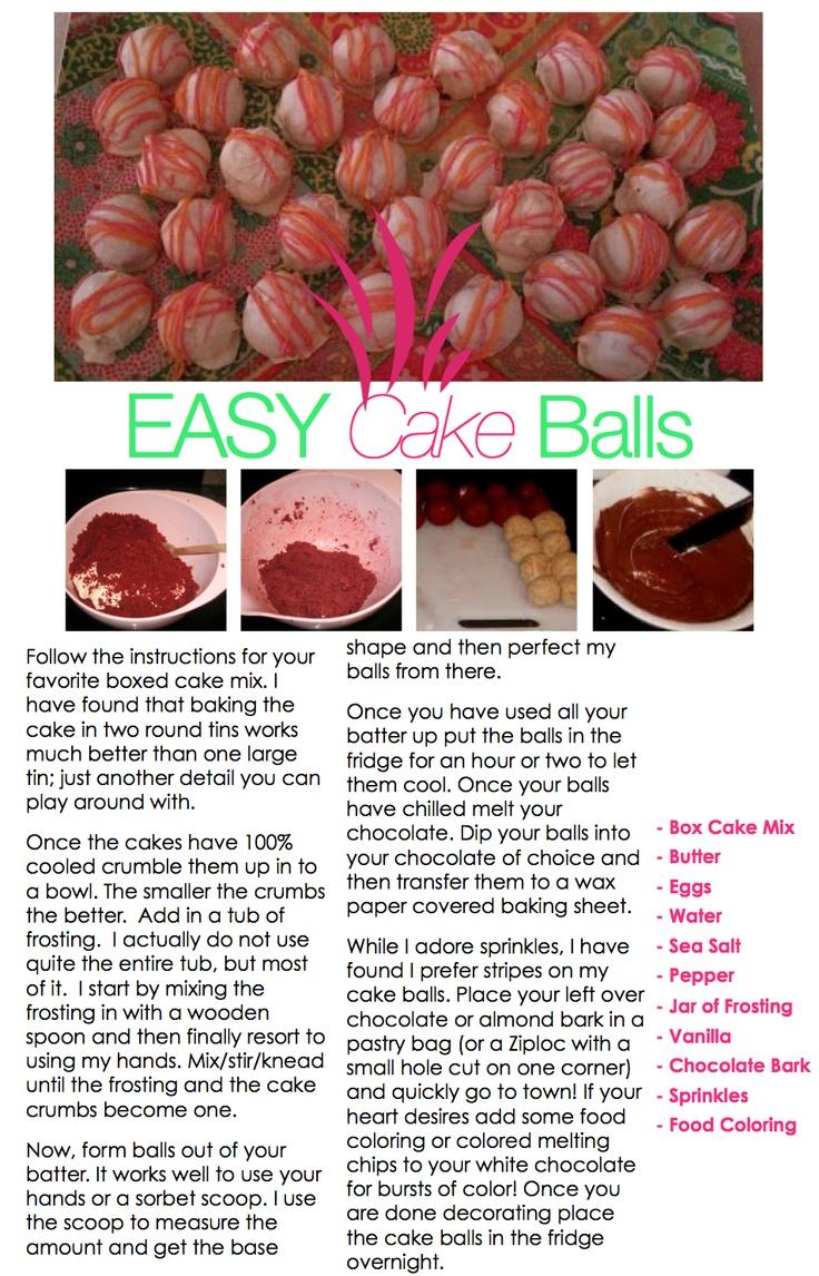 quick cake ball tutorialPrep Cake, Pop Tutorials, Kappa Prep, Cake Ball, Cakepops Addict, Quick Cake, Tony'S Cakepops, Cake Pop, Ball Tutorials
