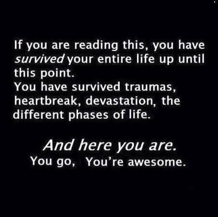 look at you! you're awesome! ❤️