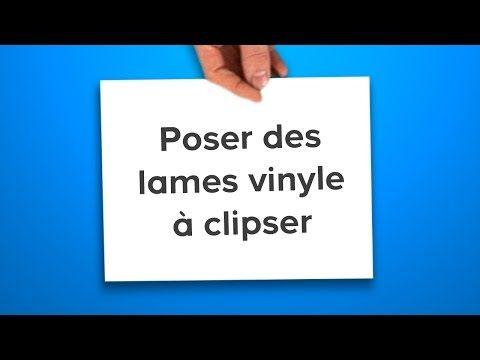 Poser Des Lames Vinyle A Clipser Castorama Youtube Dalle Pvc Adhesive Dalle Pvc Monter Une Cloison