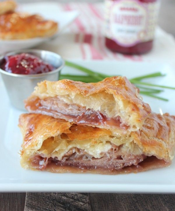 Baked Puff Pastry Monte Cristo Click For Recipe !