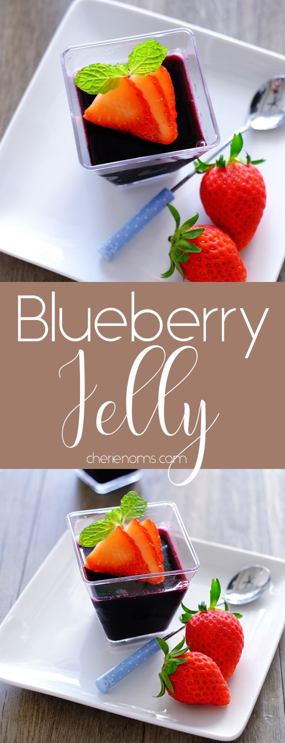 Easy Blueberry Jelly