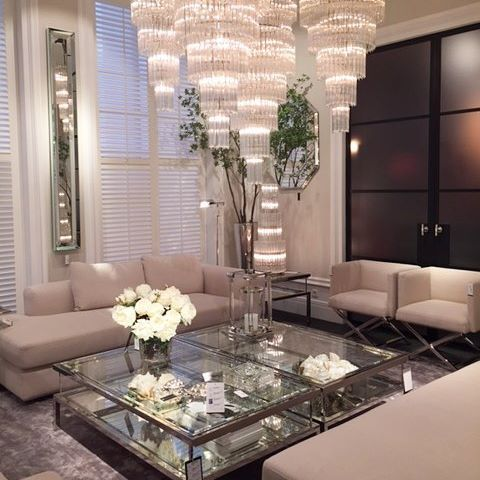 #livingroom #diningroom #coffetable #sofa #glass #steel #chandelier #eichholtz #inspiration #beautiful #glamour