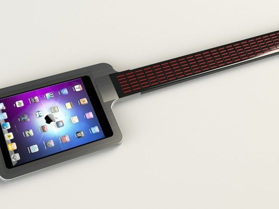 iTar - turn your iPad into a guitar. And why not.