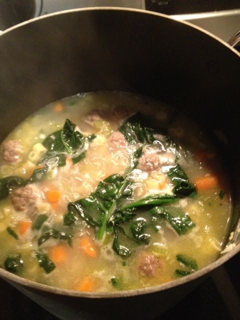 Italian Wedding Soup Healthy Easy Crock Pot Recipe For Fall