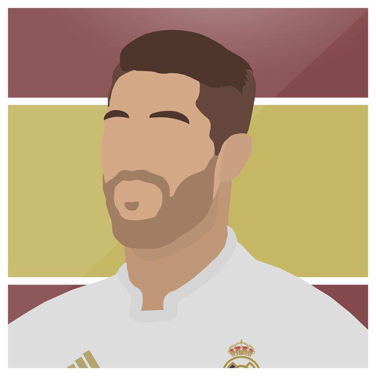Sergio Ramos   #Ramos #RealMadrid #LosBlancos #Bernabeu #SergioRamos #LaLiga #UCL #HalaMadrid #Spain #Espana #Sport #Football #Futbol #Design #Illustrator #Photoshop