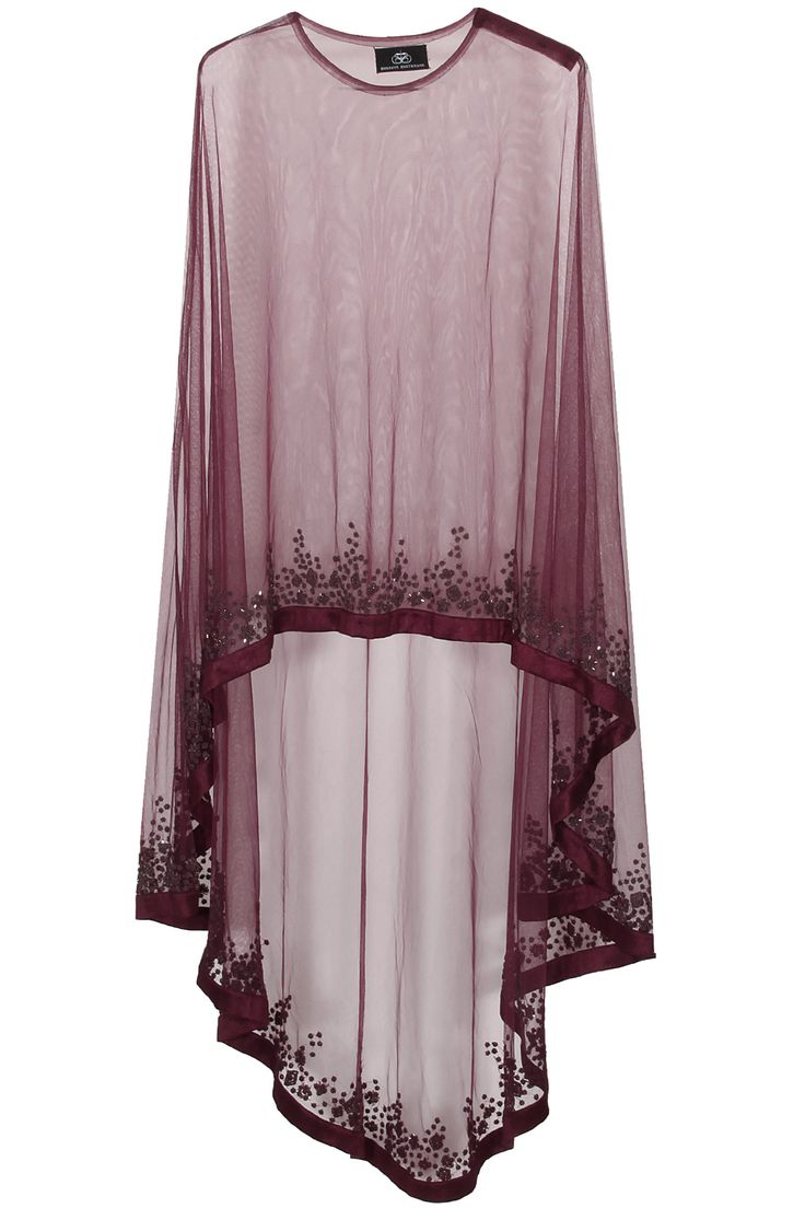 Wine floral beads embroidered cape available only at Pernia's Pop Up Shop.#perniaspopupshop #shopnow #happyshopping #designer #newcollection #bhaavyabhatnagar #clothing