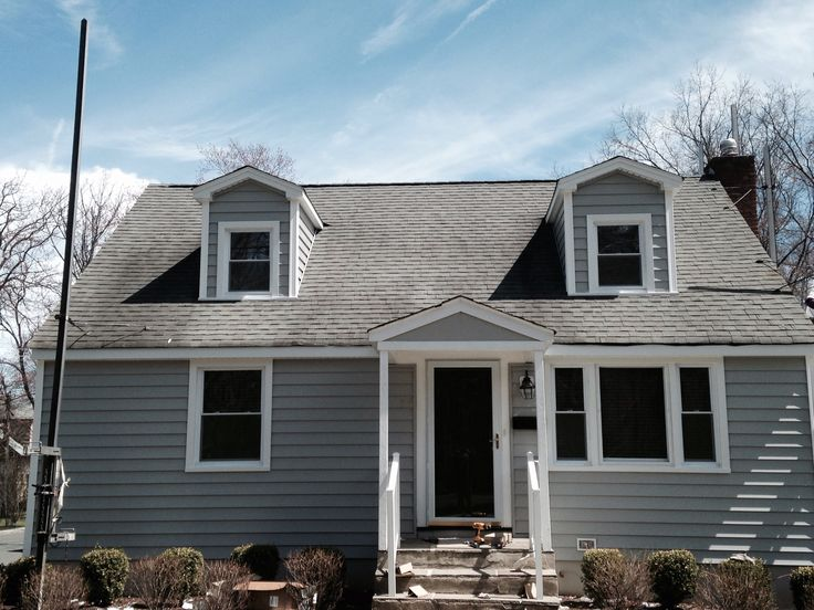 Alside Siding Cape Cod Gray Exterior Siding Colors