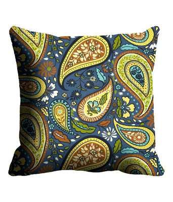 Mesleep Paisley Multicoloured Cushion Cover Cushion Covers on Shimply.com