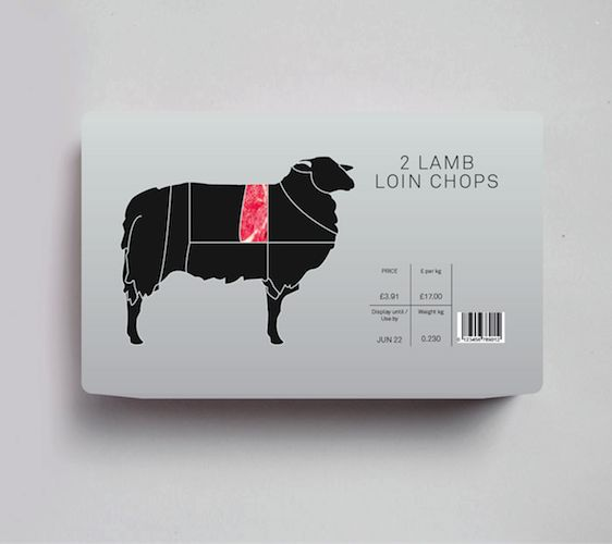 Food Packaging Concept by Nick Hill, via Behance #packagedesign