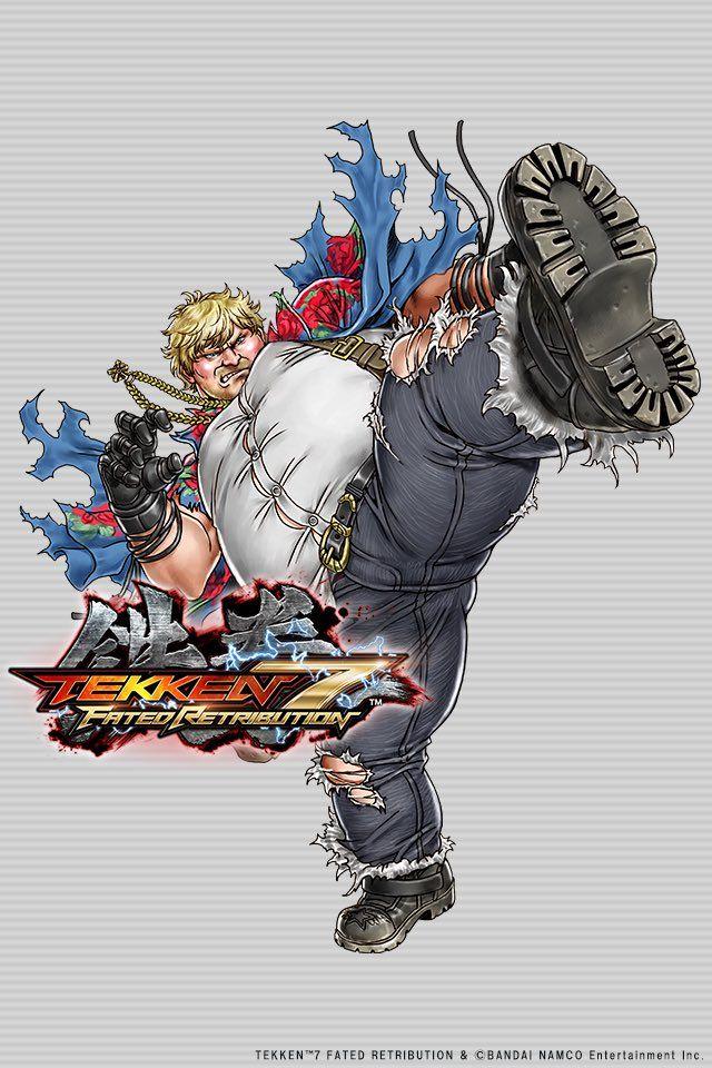"""olololkitty: """" Tekken 7 Fated Retribution - Bob by Shunya Yamashita """""""