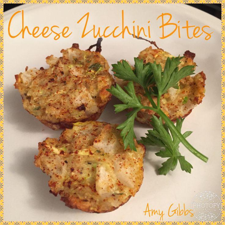 Mini Zucchini Bites
