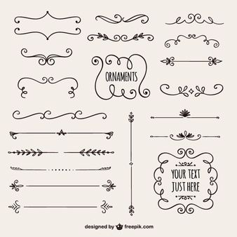Discover the best free graphic resources for Calligraphic Ornaments, 928 results