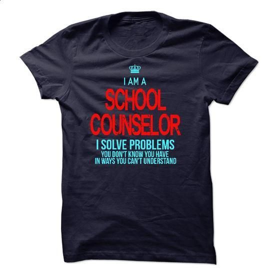I am a School Counselor - #graphic t shirts #print shirts. BUY NOW => https://www.sunfrog.com/LifeStyle/I-am-a-School-Counselor-14791541-Guys.html?60505