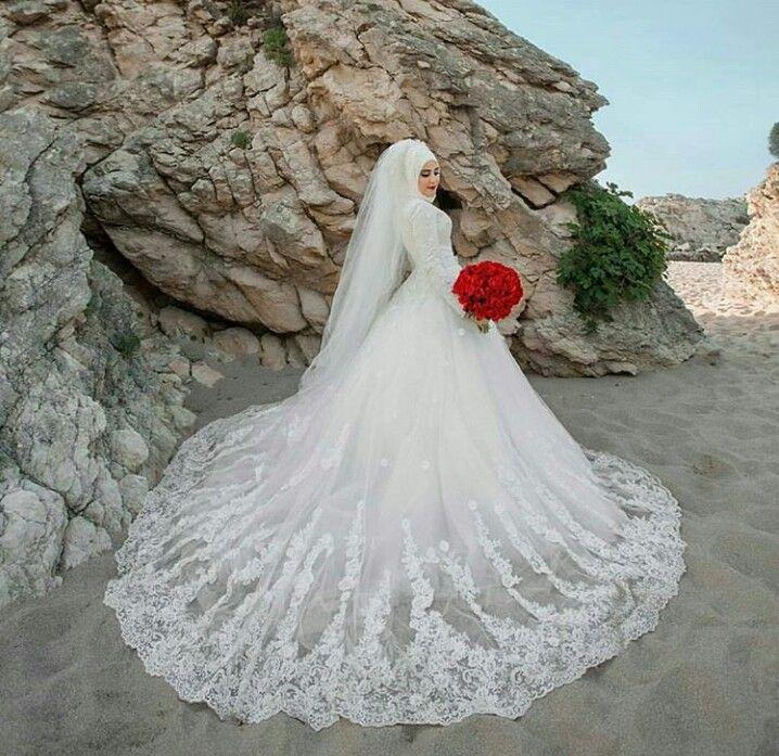 921 best Hijab Wedding Dress images on Pinterest | Muslim brides ...