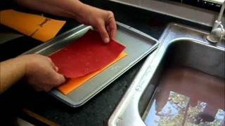 Basic handmade Paper Making, via YouTube.
