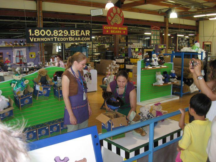 Vermont Teddy Factory