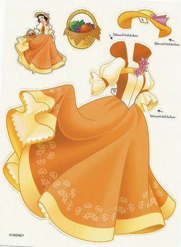vestido princesa Disney