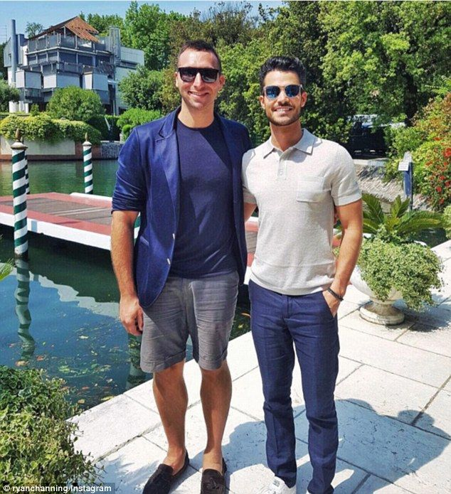Olympic star Ian Thorpe cosies up to beau Ryan Channing in sweet snap