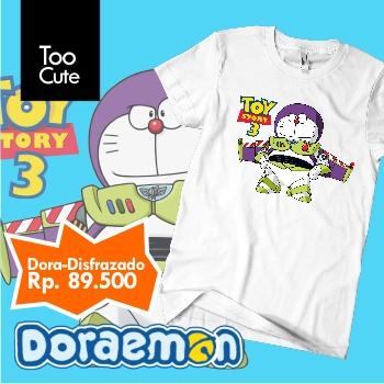 Kaos Doraemon - Disfrazado