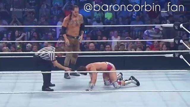 Corbin Winner At Smack Down BeFore Money In The Bank ✌️ . . بارون كوربين لازم بعد عرض موني ان ذا بانك يعطونه دفعه ✌️ . تتفق ✔️ ~ ما تتفق ❌ . #WWE#WWF#NXT#JohnCena#UnderTaker#AttitudeEra#RandyOrton#ShwanMichaels#romanreigns#DeanAmbrose#SethRollins#Sheamus#JeffHardy#MattHardy#SteveAustin#Sting#CmPunk#DanielBrayn#WrestleMania#AlbertoDelRio#BrockLesnar#WWERaw#WWESmackDown#KurtAngle#ReyMysterio#Edge#WrestleManiaا