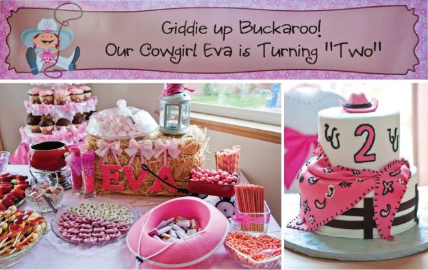 Cowgirl Birthday Party Supplies from bigdotofhappiness.comCowgirls Birthday Parties, Cowgirls Parties, Parties Ideasthemespinkcowgirl, Theme Parties, Cowgirl Birthday Parties, Bday Parties, Hay Bale, Cowgirls Hats, Birthday Ideas