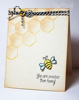 Honey Bee by The Stamps of Life, via Flickr