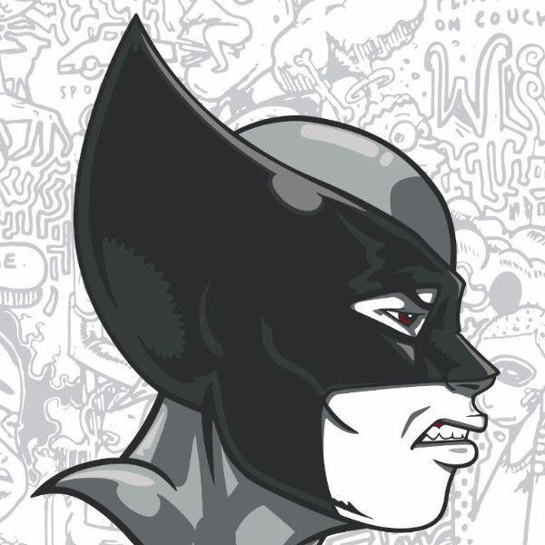 Wolverine - 2017 Hebru Brantley Poster Marvel Feral The Ghost Boy
