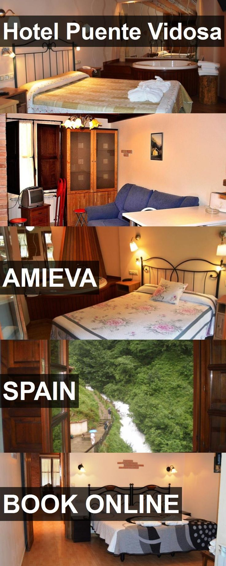 Hotel Puente Vidosa in Amieva, Spain. For more information, photos, reviews and best prices please follow the link. #Spain #Amieva #travel #vacation #hotel
