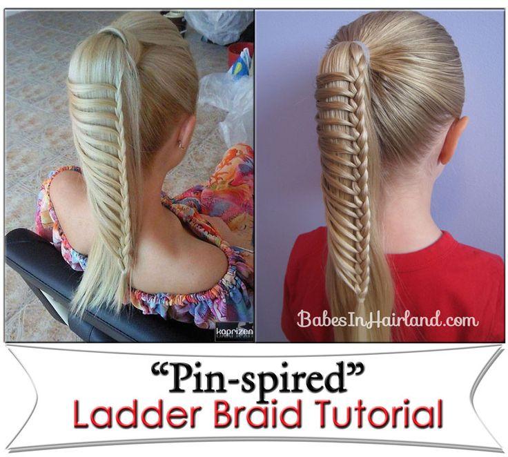 Ladder Braid | Babes In Hairland