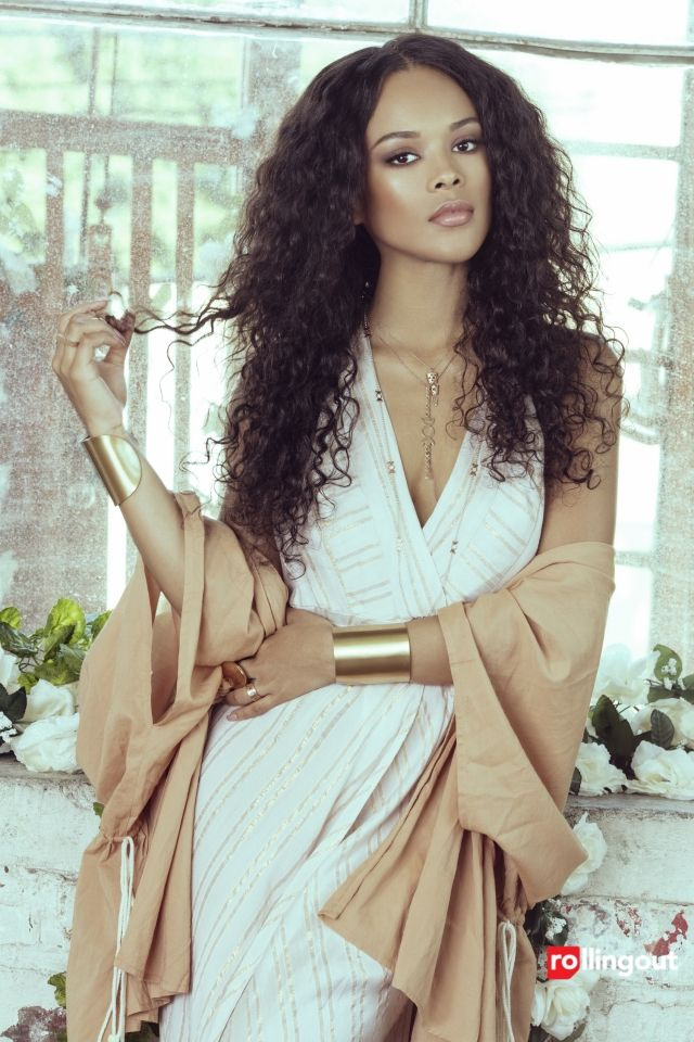 SOHO DISTRICT : Serayah Shines On The Cover Of Rolling Out Magazine