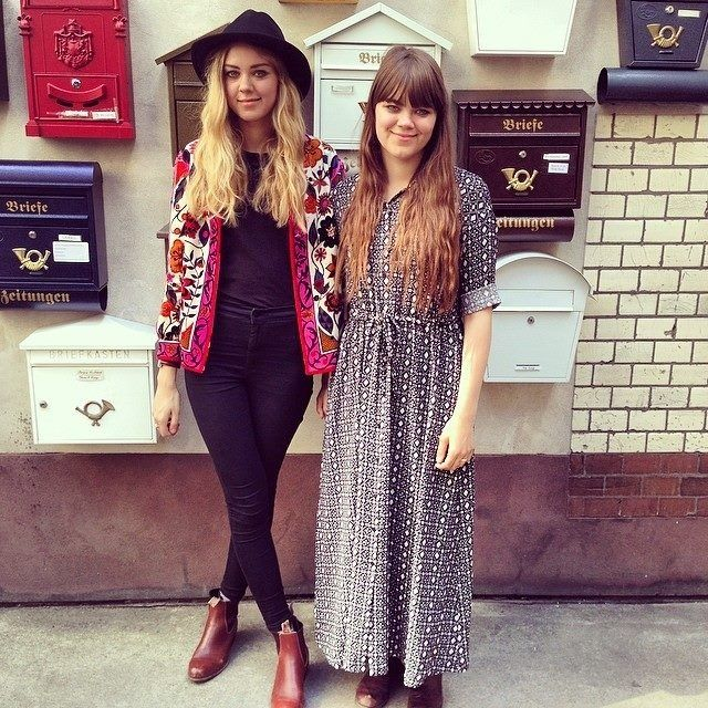 first aid kit are my favourite band ever and it is not only their music but their style that inspires me.