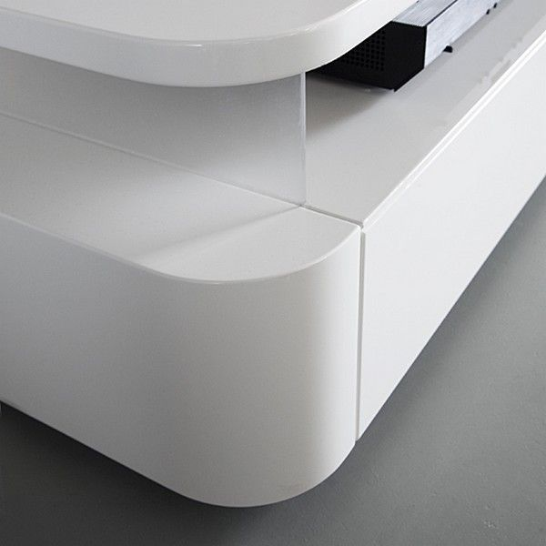 Functional TV-Audio Furniture with a Chic and Minimalist Appearance