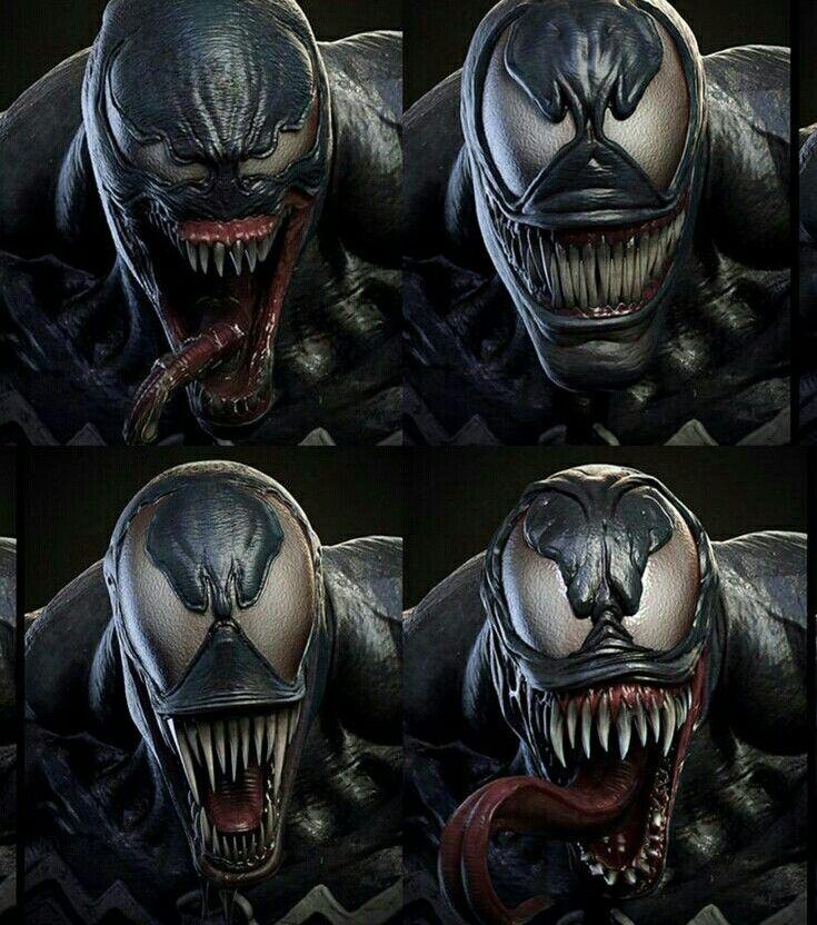 Faces of Venom   Spider-Man   Marvel venom, Venom, Marvel