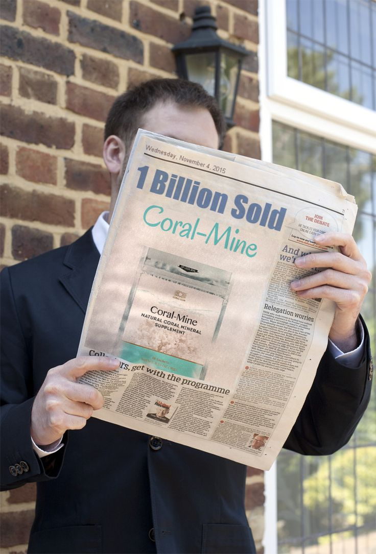 1 Billion Coral-Mine sachets SOLD in 38 Countries. Now in USA and Canada. Would You Try It?