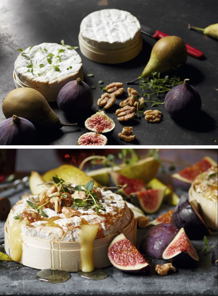 Nothing shouts indulgence more than a box-baked Camembert oozing with molten cheese. Serve with a drizzle of orange-blossom honey, sliced figs, chopped walnuts and the all-important slices of toasted bread for dipping. Find more Christmas recipes on the Waitrose website.