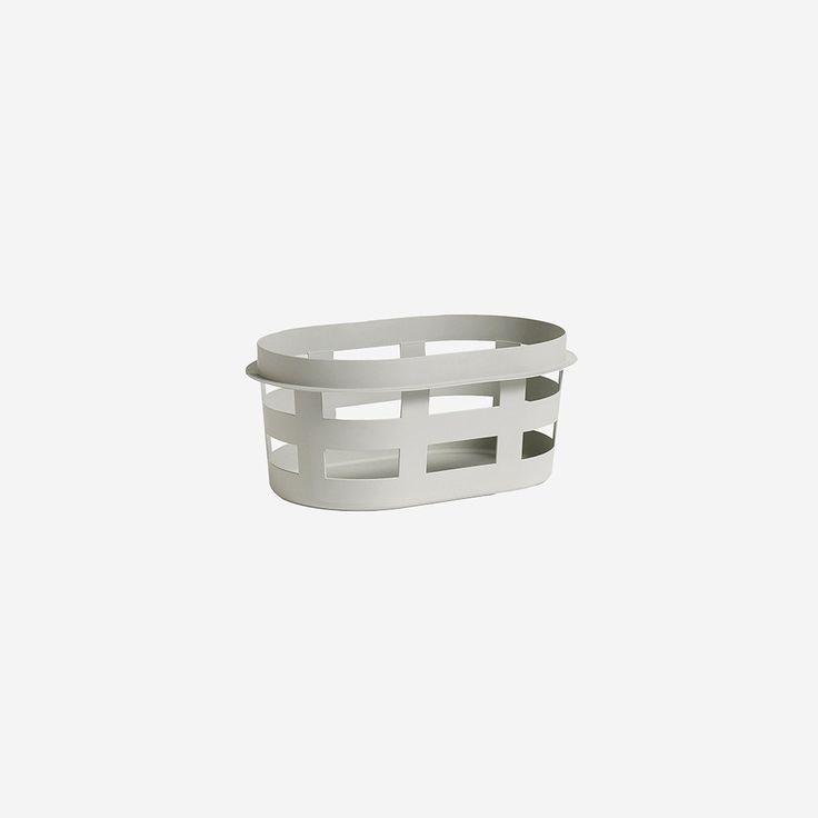 Laundry Basket Small Grey