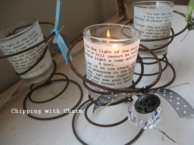 Best Shop Bed Springs Images On Pinterest Bed Spring - Cool diy spring candles and candleholders